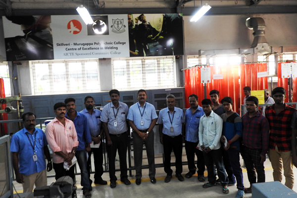 Inauguration of Welding Programme